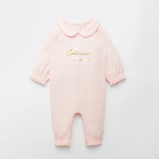 River Island Baby Pink 'Cuteness overload' baby grow