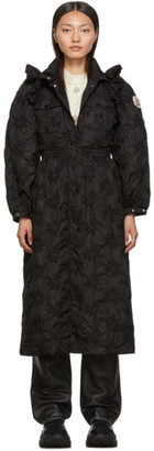 Simone Rocha Moncler Genius 4 Moncler Black Cheryl Coat