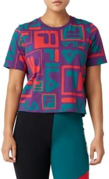 Fila Josephine Cotton Logo-Print T-Shirt