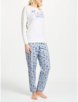 Cyberjammies Tweet Bird Pyjama Set, Blue/White