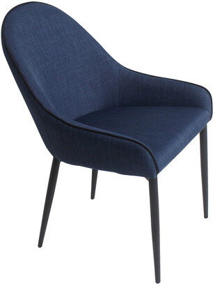 Moe's Home Collection Set Of 2 Lapis Dining Chairs