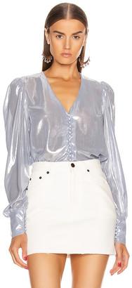 Andamane Cecilia Shirt in Ice Silver | FWRD