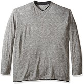 Lee Men's Big and Tall and Tom Long Sleeve V