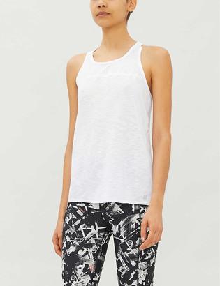 Sweaty Betty Breeze panelled stretch-woven top