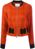 3.1 Phillip Lim Plaid bomber jacket