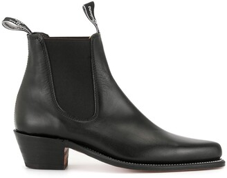 R.M. Williams Millicent pointed-toe Chelsea boots