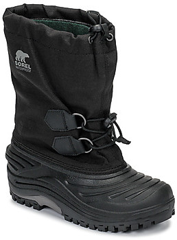Sorel YOUTH SUPER TROOPER girls's Snow boots in Black