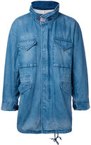 Monkey Time Denim Shirt Jacket