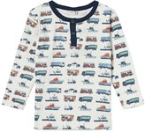 Hust&Claire Truck Print Top
