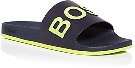 HUGO BOSS Men's Logo Slide Sandals