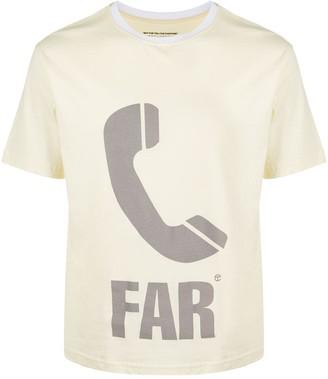 Telfar phone icon print T-shirt