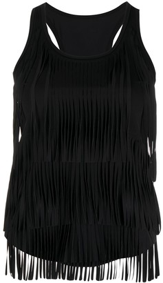 Pinko Fringed Tank Top