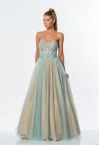 Terani Couture 151P0088B Ornate Strapless Sweetheart Ballgown
