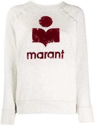 Etoile Isabel Marant logo print sweatshirt