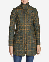 Eddie Bauer Women's Year-Round Field Coat - Plaid