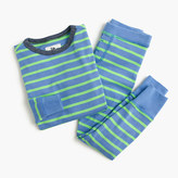 J.Crew Boys' pajama set in neon stripe