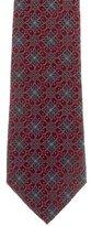Dolce & Gabbana Floral Print Silk Tie