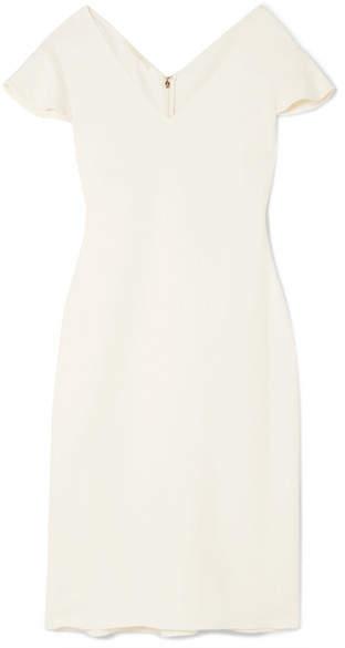 Antonio Berardi Crepe Dress - Off-white