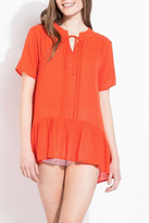 THML Clothing Ruffled Tunic