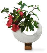 Porcelain Horn Vase
