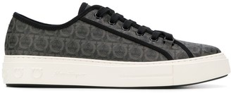Salvatore Ferragamo Embossed Sneakers