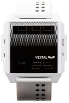 Vestal Unisex DIG040 Digichord Digital Display Quartz White Watch