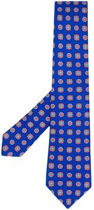 Kiton Tile-Print Tie