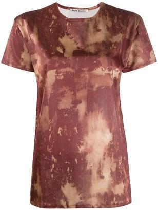 Acne Studios bleach print T-shirt