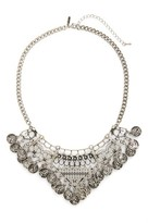 Topshop Women's Coin Collar Necklace