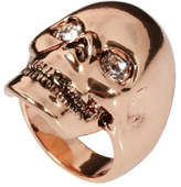 Wildfox Couture Skull Ring Rose Gold