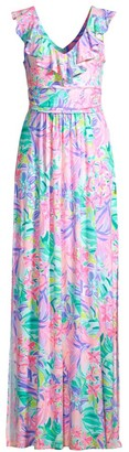 Lilly Pulitzer Mirella Printed Maxi Dress