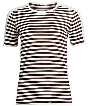 Akris Punto Women's Striped Wool Tee