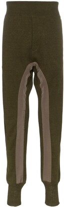 Haider Ackermann drop crotch linen sweatpants