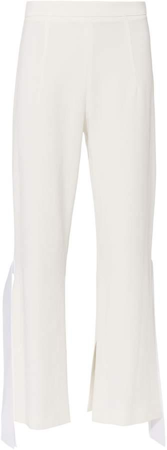 Cushnie et Ochs Salma Cropped Flare Pants