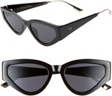 Christian Dior Catstyle1 53mm Cat Eye Sunglasses