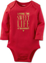 Carter's Baby Girls' Living The Sweet Life Long-Sleeve Bodysuit