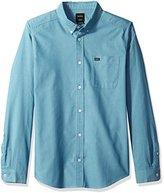 RVCA Men's That'Ll Do Oxford Long Sleeve Shirt