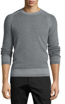Theory Aster Textured Wool Sweater