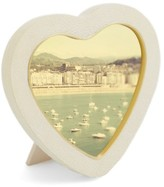 AERIN Shagreen Heart Picture Frame