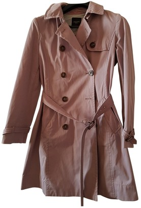 Max Mara Weekend Pink Cotton Trench Coat for Women