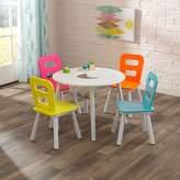 Kid Kraft Round Storage Table & 4 Chair Set