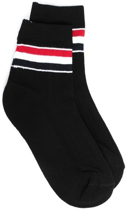 Thom Browne RWB stripe ankle socks
