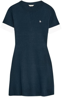 Jack Wills Baverstock Knitted Fit And Flare Dress