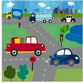 Oopsy Daisy Fine Art For Kids Too Busy Roads Canvas Wall Art
