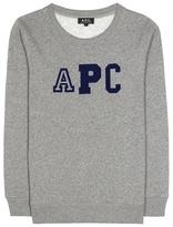 A.P.C. Collegienne Cotton-blend Sweater
