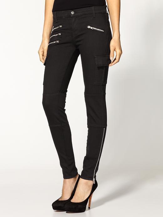 J Brand The Brix Skinny Zip Cargo Pants