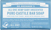 Dr. Bronner's All-One Hemp Pure-Castile Soap Bar Unscented