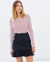 SABA Ashley Ruffle Skirt