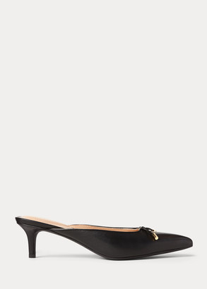 Ralph Lauren Lilyan Leather Pump