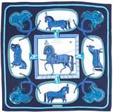 Hermes Châle silk scarf